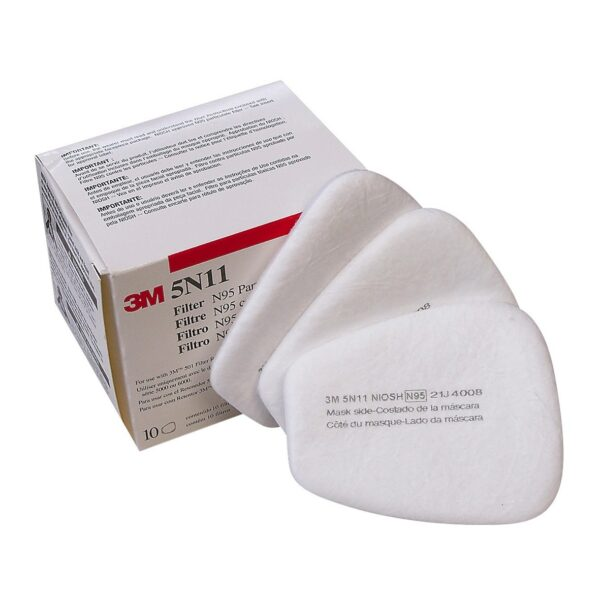 3M 5N11 N95 DUSTMIST PAINT SPRAY PREFILTER packof10 3M 7502 HALF FACE SILICON REUSABLE RESPIRATORY PROTECTION KIT
