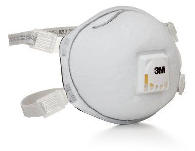 3m particulate welding respirator 8212 n95 with faceseal 2 3M™ Particulate Respirator 8212 N95 (Pack of 10)